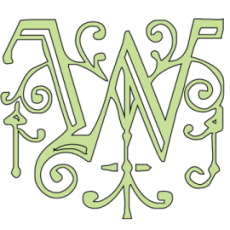 "Whitworth Stained Glass logo - ""W"""