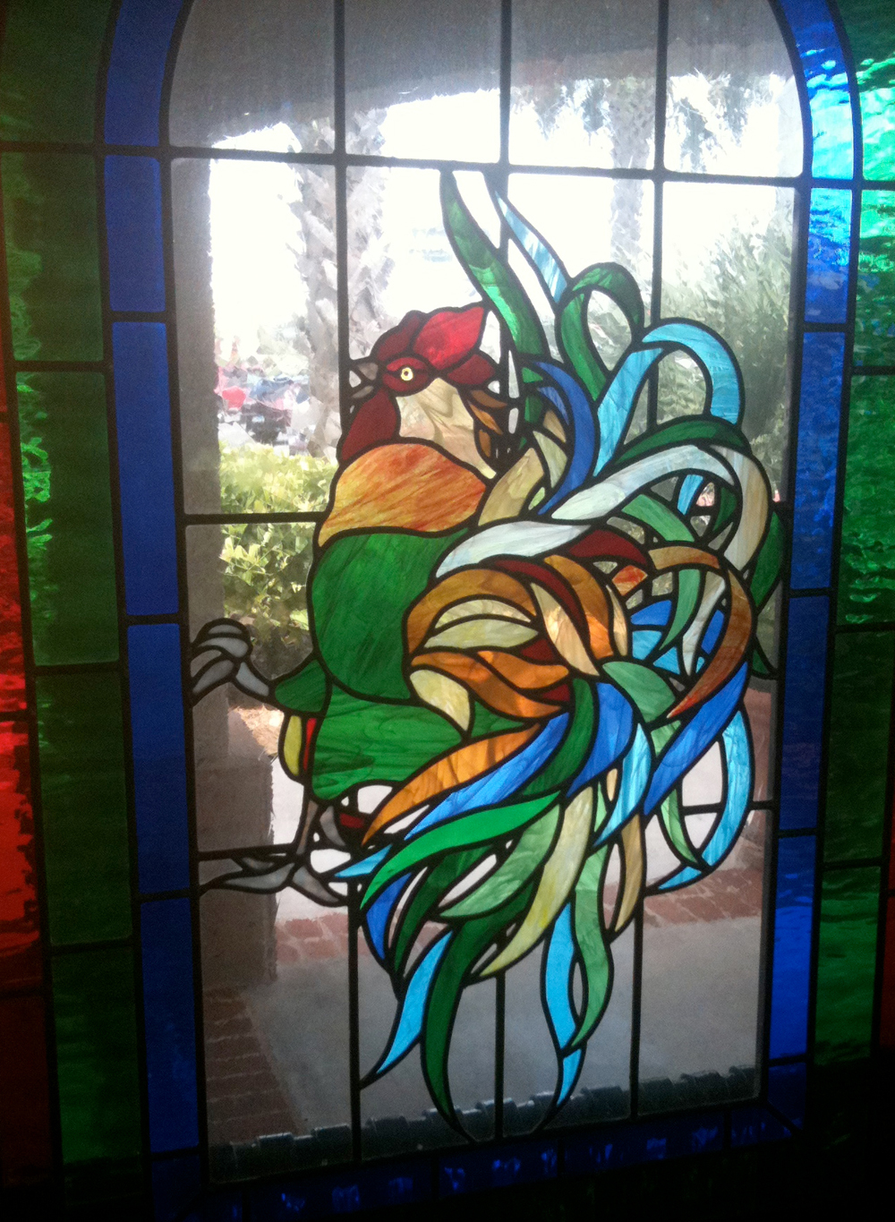 Commercial stained glass